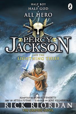 Resenha: Ladrao de Raios (Percy Jackson e os Olimpianos Vol.1) #Graphic Novel 15