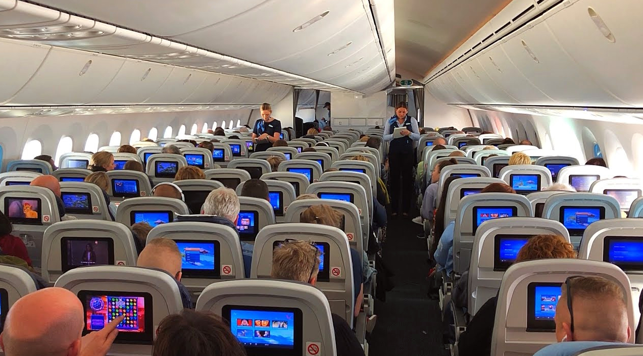 Tui Airlines Boeing 787-9 Economy Class Seating Layout