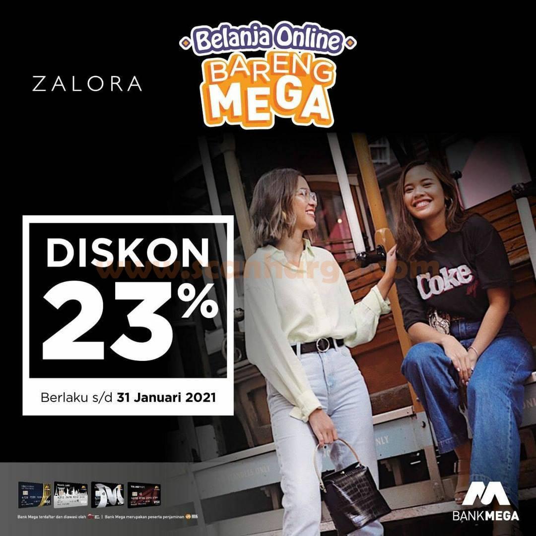 ZALORA Promo Belanja Online! Spesial BARENG MEGA DISKON 15%