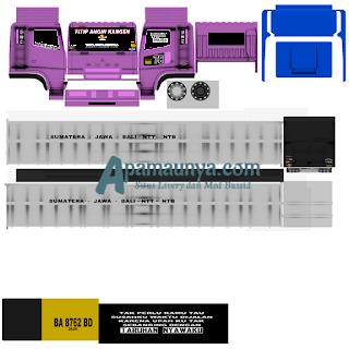 Download Livery Truck Fuso Monata  Mediafire