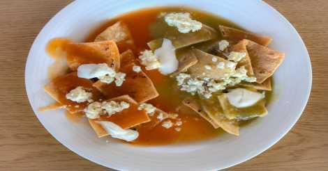 Chilaquiles dari Meksiko