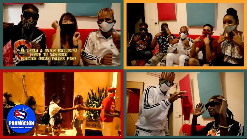 El Drela & Unión Exclusiva - ¨Ponte tu Nasobuco¨ - Videoclip - Director: Paranoyan Record. portal Del Vídeo Clip Cubano. Música cubana. Reguetón. Cuba