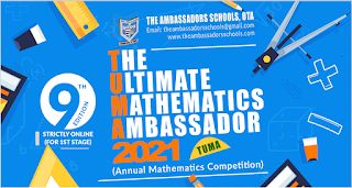 TUMA 2021 Annual Maths Competition Form [9th Edition]