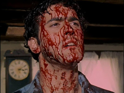 The Evil Dead 1981 movie still Sam Raimi Bruce Campbell