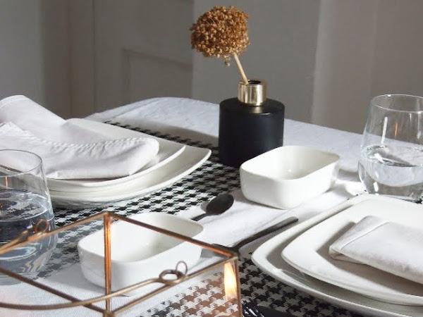 Una mesa sencilla para dos