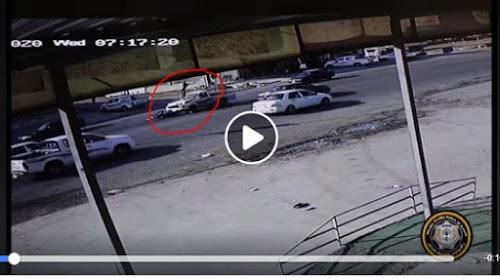 ڤیدیۆ..ساتهوهختی ڕووداوێكی مهترسیداری هاتووچۆ له شاری ههولێر