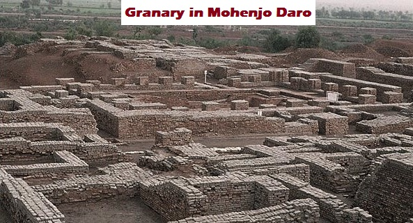 Granary in Mohenjo Daro