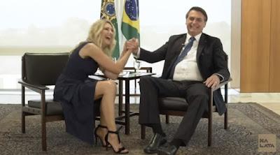 Presidente Bolsonaro na lata: A Facada não me elegeu