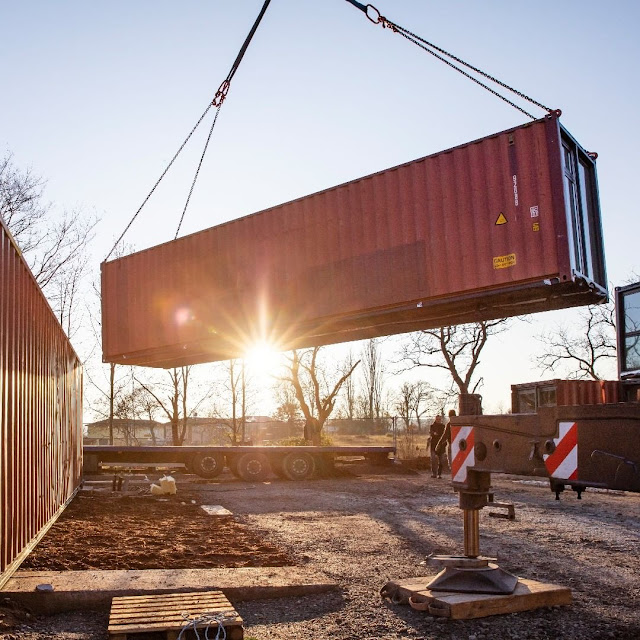 Shipping Container Tiny Homes Village, Germany 18