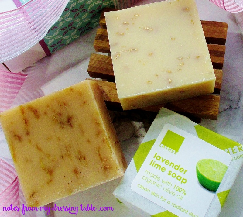 Lather Soaps for Mother's Day Natural Lavender