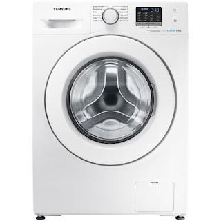 Masina de spalat rufe Samsung WF8EF5E0W4W/LE, Eco Bubble, 1400 RPM, 8 kg, Clasa A+++, 60 cm, Alb