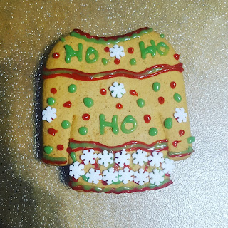 "An ""ugly"" Gingerbread Christmas Cookie Sweater"