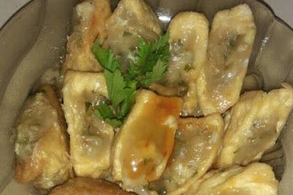 Resep Masakan Sunda Tahu Isi Cilok