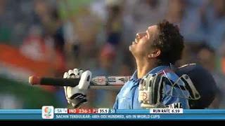 Sachin Tendulkar 111 vs South Africa Highlights