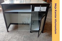 Pengrajin Meja Alumunium untuk keperluan Kantor atau Sekolah