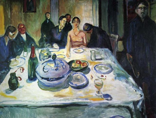 Эдвард Мунк - Цыганская свадьба. 1925