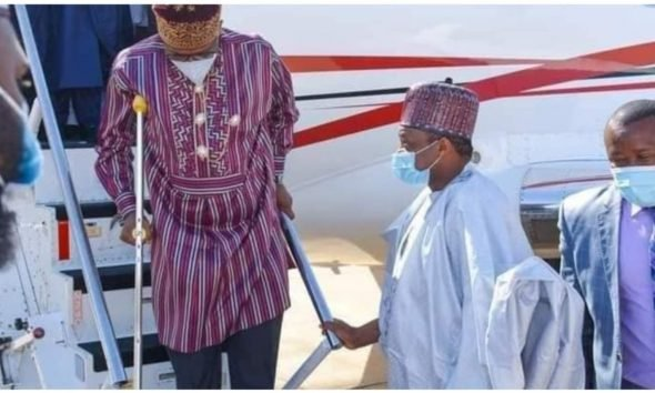 Rotimi Amaechi Finally Speaks On Why He Uses Crutches