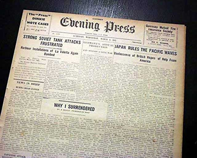 The Evening Press, 4 March 1942, worldwartwo.filminspector.com