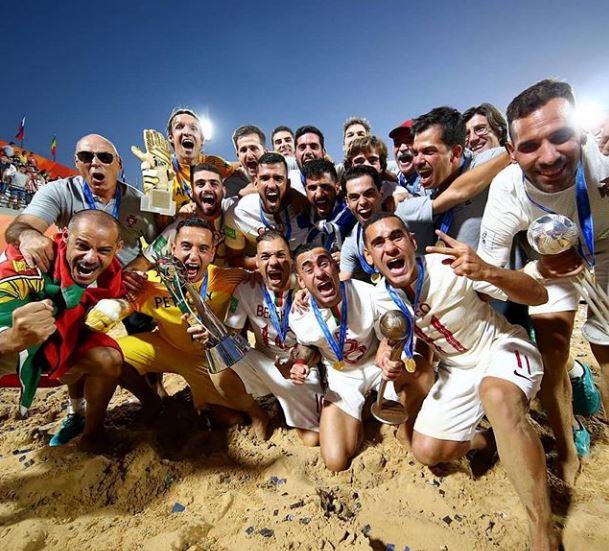 Portugal conquista o tricampeonato mundial de futebol de areia