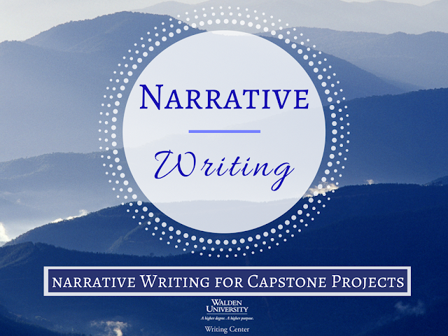 Narrative Writing for Capstone Projects