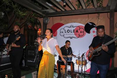 El evento contó con la música en vivo de Leticia Pelliccione