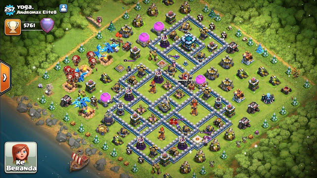 Base COC TH 13 Terkuat