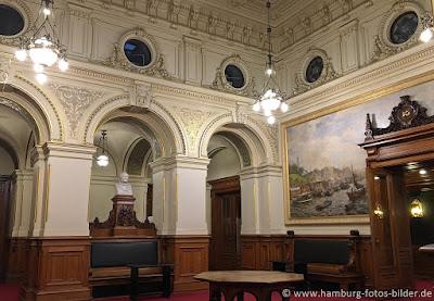 Rathaus Hamburg Innenansicht