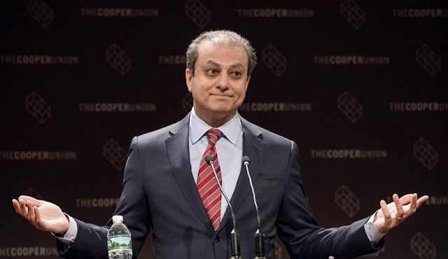 Preet Bharara 'actually considered' secretly recording Trump
