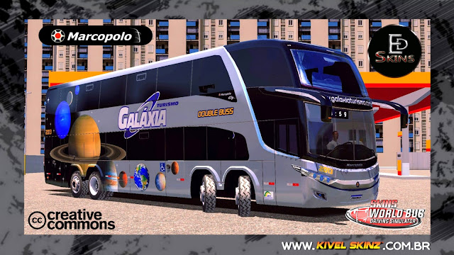 PARADISO G7 1800 DD 8X2 - VIAÇÃO GALÁXIA TURISMO DOUBLE BUS