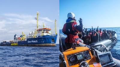 Europa: Open Arms y Sea Watch 3 esperan puerto para 237 migrantes rescatadas