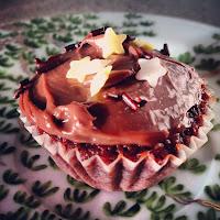 cupcake red velvet milka