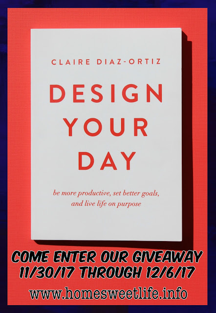 book giveaway, Design Your Day, Claire Diaz-Ortiz