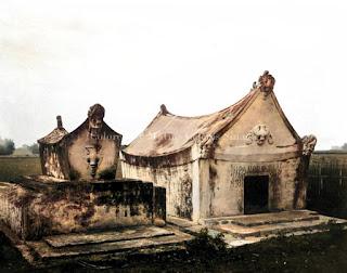 makam atau kuburan orang batak tempo dulu