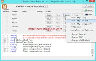 4 - Tutorial Mengganti Port Pada Mysql Dan Apache Di Xampp Versi Terbaru