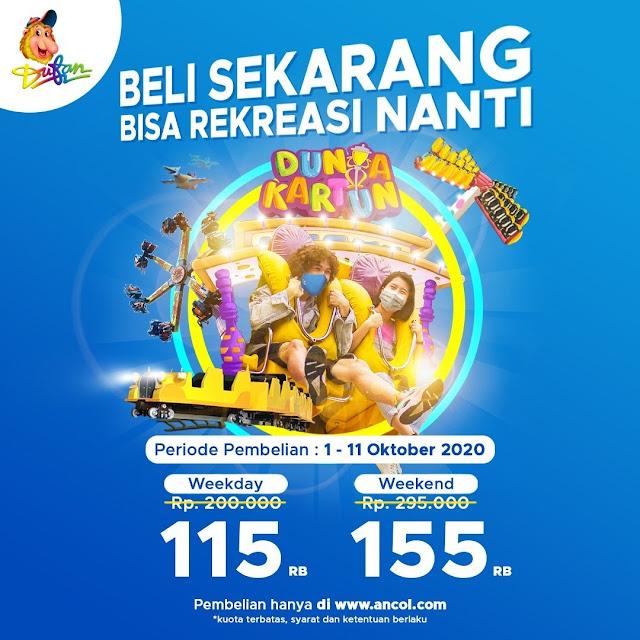 #Ancol - #Promo Harga Tiket Special Hanya 115 Ribu (s.d 11 Okt 2020)