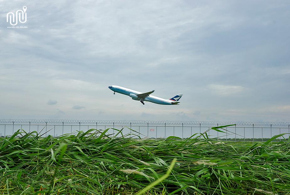 จุดชมวิวสนามบินสุวรรณภูมิ สำหรับคนชอบดูเครื่องบินและถ่ายภาพ