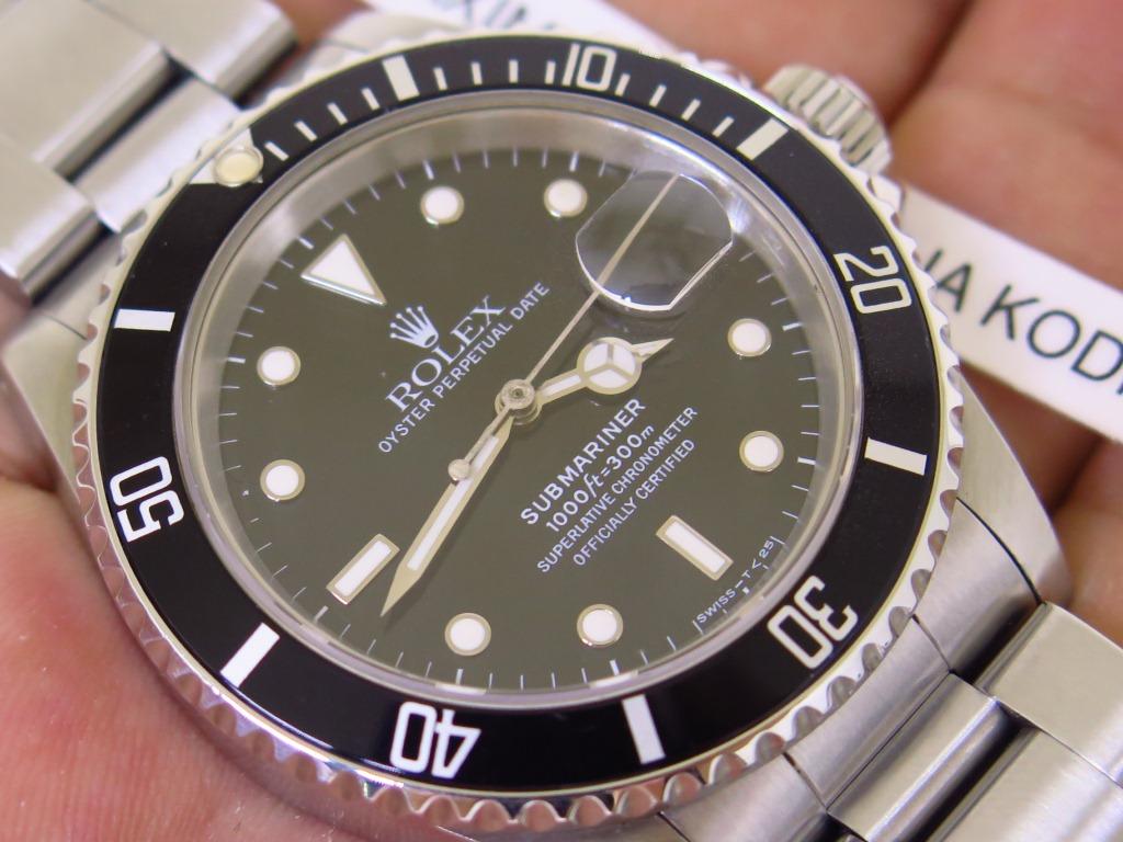 ROLEX SUBMARINER DATE - ROLEX 16610 - SERIE L YEAR 1989