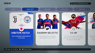 FIFA 19 Menu Theme for PES 2019
