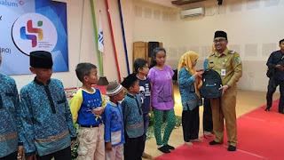 Wakil Bupati Batu Bara Hadiri Kegiatan Penyantunan Anak Yatim Di PT Inalum