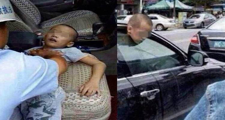 تركت طفلها فى السيارة فحدثت كارثة غير متوقعة