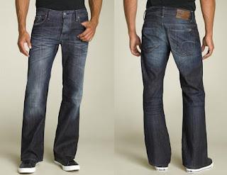 Model Celana Jeans Boot CUt Pria