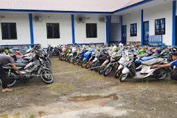 H+2 Lebaran, Polres Pasangkayu Razia Knalpot Racing di Wilayah Polsek Baras dan Sarudu.