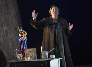 Susan Bickley - Janacek Jenufa - Opera North - photo Richard H Smith
