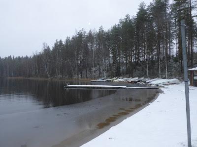 Finlande Lac Sylkky Kerimaa centre de vacances, golf-club près de Kerimäki  23 Octobre 2019