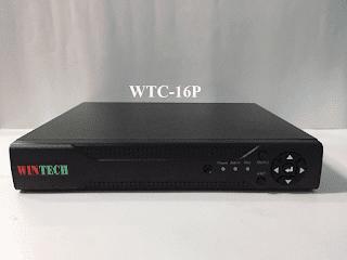 Đầu ghi hình camera 16 kênh 5 trong 1 WTC-16P WinTech