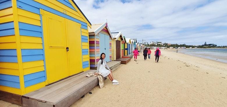Brighton Bathing Beach Box in Melbourne, Victoria