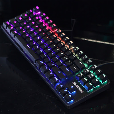 Keyboard Meca Warrior RGB