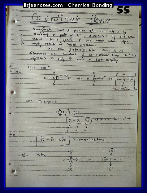 Chemical-Bonding Notes cbse7