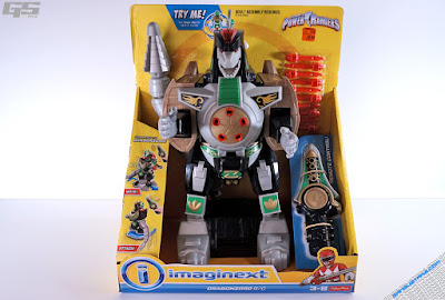 2016 Imaginext Power Rangers Power Rangers Dragonzord R/C Green Ranger