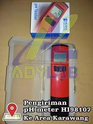 Harga pH Meter Murah untuk Hidroponik, Aquarium, Air Minum, Kolam Ikan | Ady Lab Jual pH Meter Hanna HI 98107 Grosir